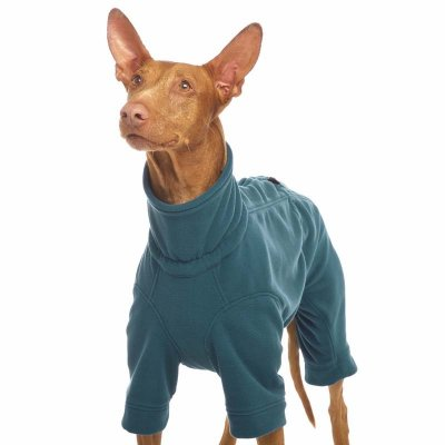 Sofa Dog - Harlequin - Fleece Jumpsuit