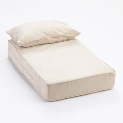 Snoozer Pillow Rest Lounger - Cooling Foam - Buckskin