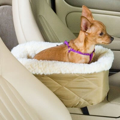 Luxury Snoozer Console Carseat - Small - Khaki