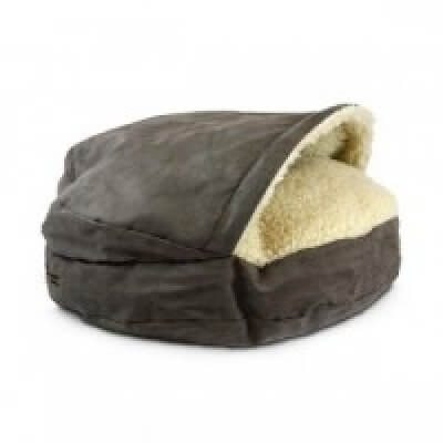 Snoozer Cozy Cave XL - Dark Chocolate