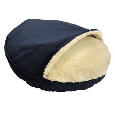 Snoozer Cozy Cave Large - Navy