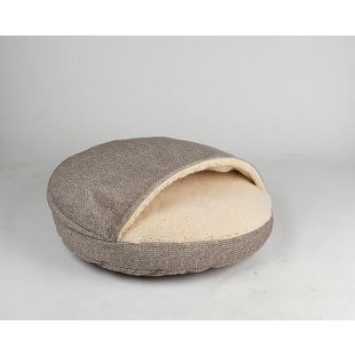 Snoozer Cozy Cave Large - Merlin Linnen - Show Dog