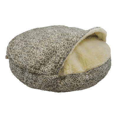 Snoozer Cozy Cave Large - Gondola Grey - WAG Collection