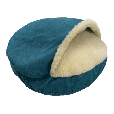 Snoozer Cozy Cave Large - Marine - Luxury