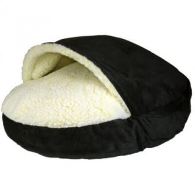 Snoozer Cozy Cave Large - Black