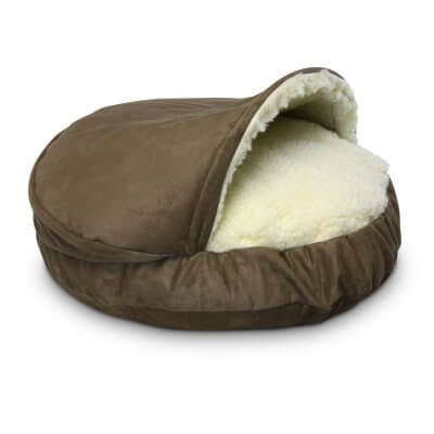 Snoozer Cozy Cave Large - Peat - Luxury