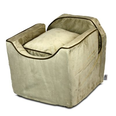 Luxury Snoozer Lookout I Pet Car Seat - Medium - Buckskin (up to 11,5 kg)