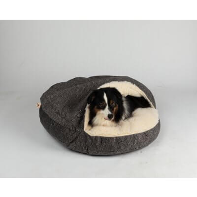 Snoozer Cozy Cave Large - Merlin Pewter - Show Dog