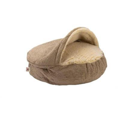 Snoozer Cozy Cave X-Large - Piston Sand - Luxury - 119 cm