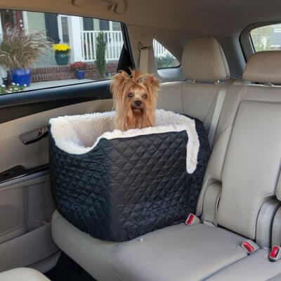 Snoozer Lookout I Pet Car Seat - Medium - Black (up to 11,5 kg)