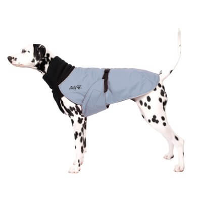 Chilly Dogs - Great White North - Warm Dog Coat - Long and Lean Breeds (sighthounds eo)