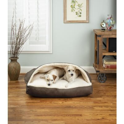 Snoozer Cozy Cave® Dog Bed - RECTANGLE - Luxury Microsuede