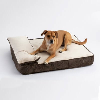 Snoozer Pillow Rest Lounger - Cooling Foam - Laurel Mocha