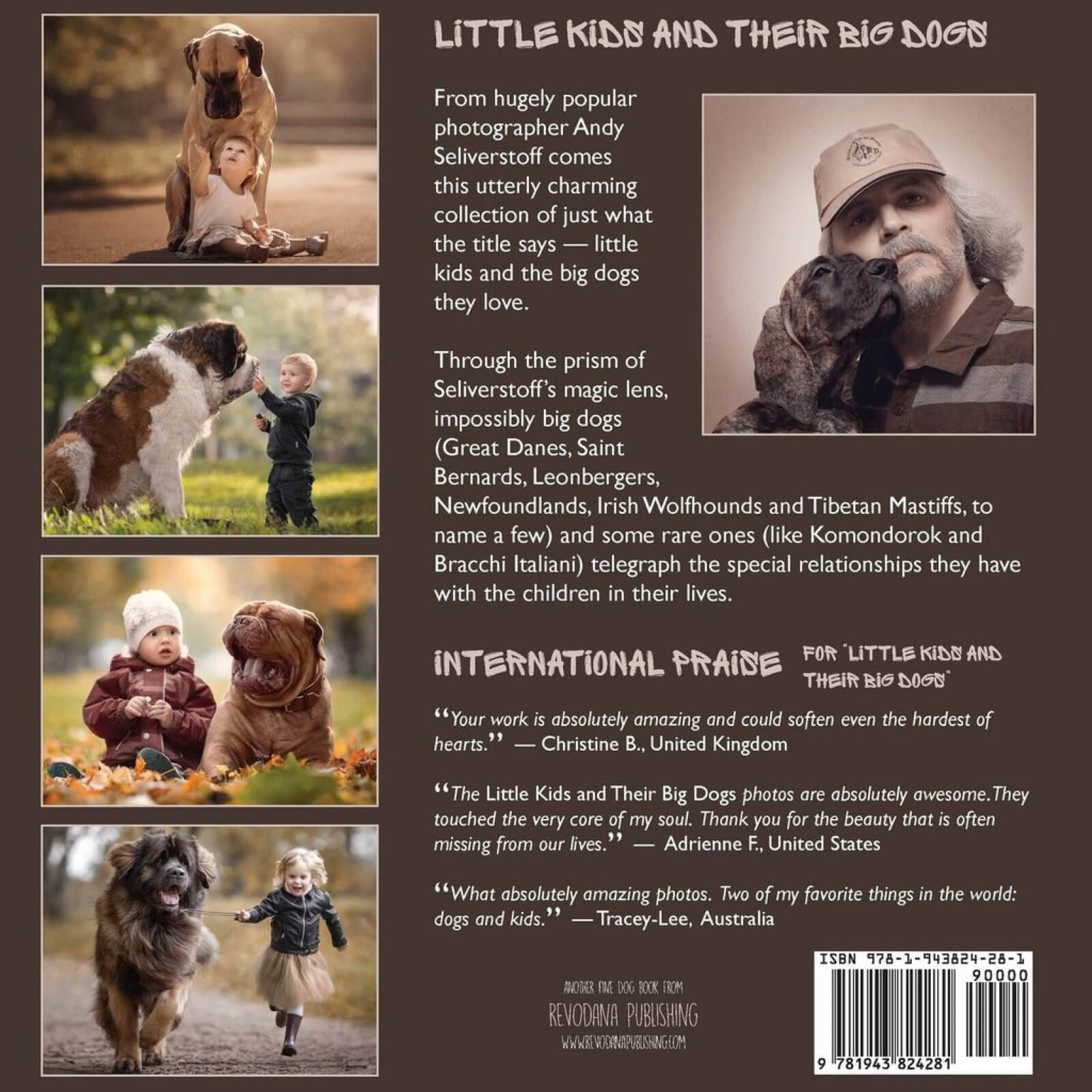 Little Kids and their Big Dogs Book Cover