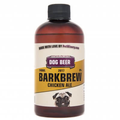 Bark Brew Dog Beer Chicken Ale 240ml