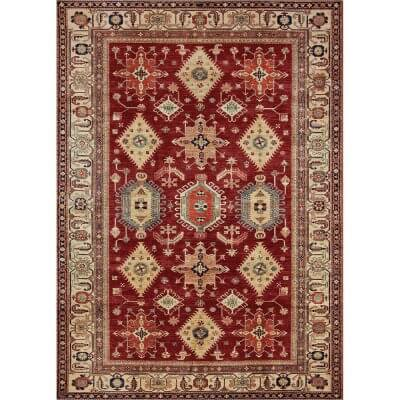 Ruggable Washable Rug - Noor Ruby (150cm x 210 cm)
