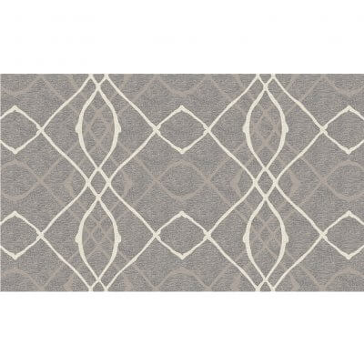 Ruggable Washable Rug - Amara Grey (90 cm x 150 cm)