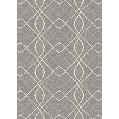 Ruggable Washable Rug - Amara Grey (150cm x 210 cm)