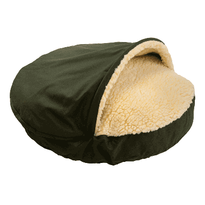 Snoozer Cozy Cave Small - Olive