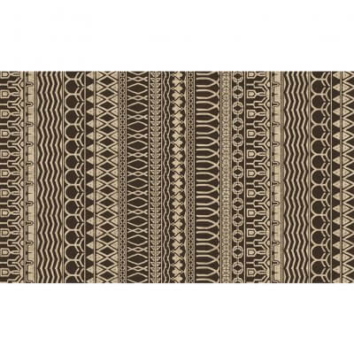 Ruggable Washable Rug - Cadiz Espresso (90 cm x 150 cm)
