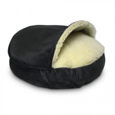 Snoozer Cozy Cave Small - Anthracite - Luxury