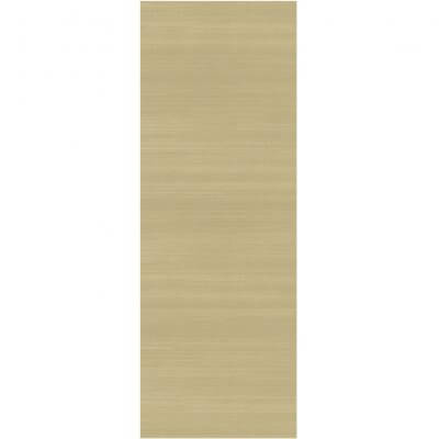 Ruggable Washable Rug - Solid Textured Cream (67 cm x 210 cm)