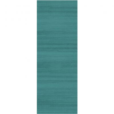 Ruggable Washable Rug - Solid Textured Ocean Blue (67 cm x 210 cm)