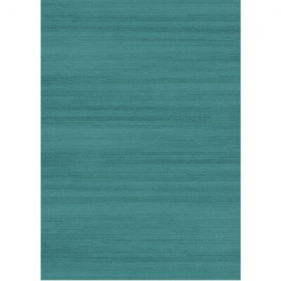 Ruggable Washable Rug - Solid Textured Ocean Blue (150cm x 210 cm)