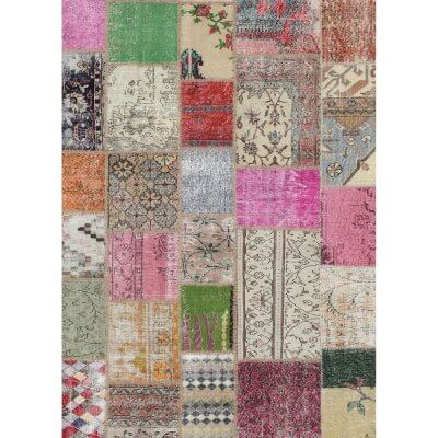 Ruggable - Patchwork Boho (150cm x 210 cm)